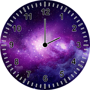 galaxy clock widget android apps on google play