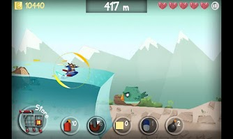 Screenshot of Surfing Beaver