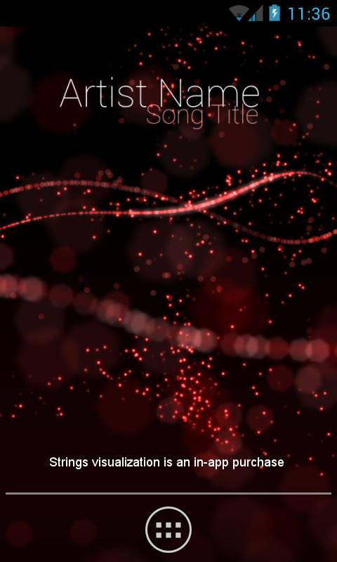 Audio Glow Live Wallpaper- screenshot