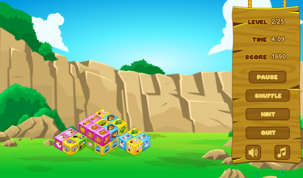 Animal Cubes Premium - screenshot