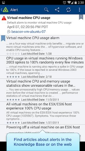 【免費商業App】vSphere Mobile Watchlist-APP點子