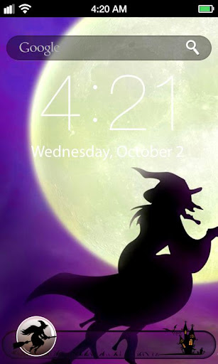 Witch Lock Screen Wallpaper