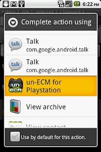 un-ECM for Droid - screenshot thumbnail