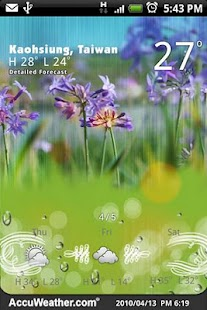 9s-Weather Theme+ (Wonderland)- screenshot thumbnail