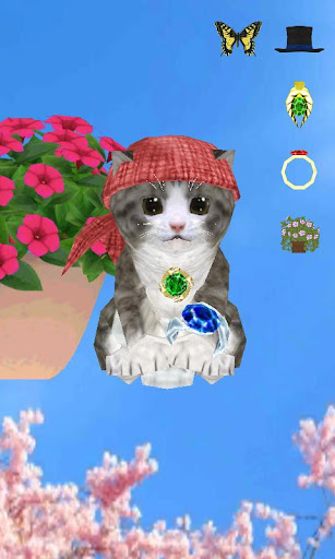 3D Singing Kitten Dress Up