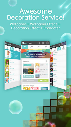 Decoron - Awesome live wall