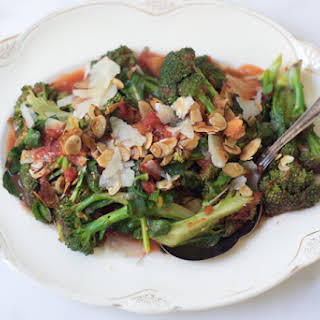 Braised Broccoli with Orange and Parmesan.