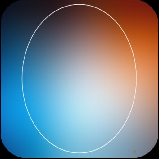 Blurry Kitkat Round Theme Pack 個人化 App LOGO-APP試玩