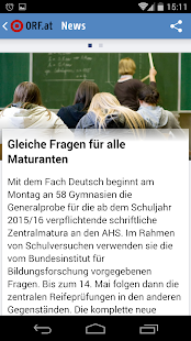 ORF.at News- screenshot thumbnail