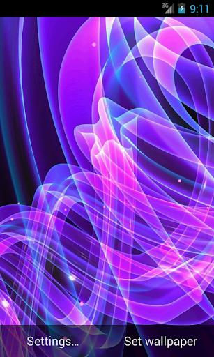 Z3 Neon Light Live Wallpaper