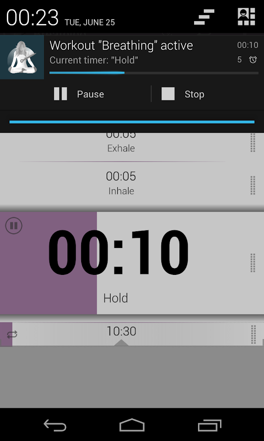 Yoga Timer- screenshot