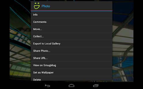 SmugMug - screenshot thumbnail