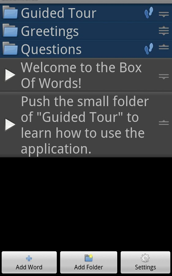 BoxOfWords FREE- screenshot
