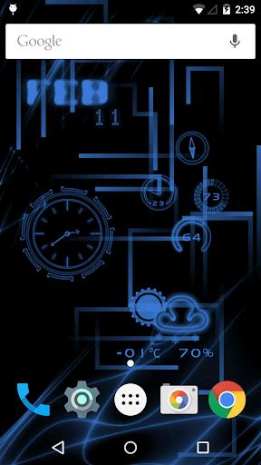 NeonClock legacy Livewallpaper