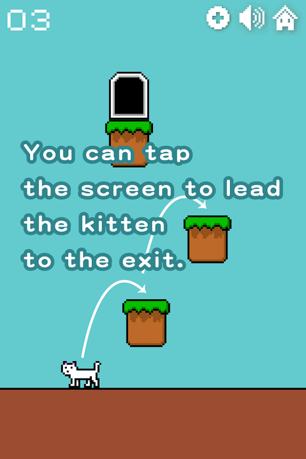 Nyanko Escapes- screenshot