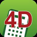 4D计算器 icon