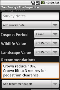 Tree Survey - screenshot thumbnail