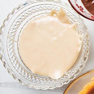 White Chocolate-Cardamom Glaze