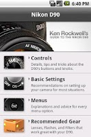 Screenshot of Nikon D90 Guide