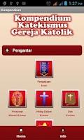 Screenshot of Kompendium Katekismus Katolik