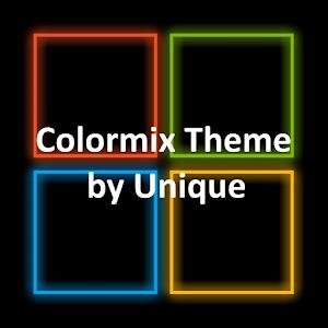 Colormix Theme by Unique APK