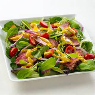 Mango Chimichurri Steak Salad.