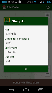 Pilz-Finder – Miniaturansicht des Screenshots