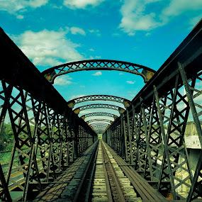 Victoria Bridge by Papin Michael - Buildings & Architecture Bridges & Suspended Structures ( bridge, karai, victoria bridge,  )