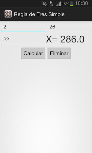 【免費工具App】Regla de Tres Simple-APP點子
