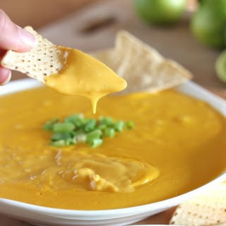 "Vegan Nacho ""Cheese"" Dip."
