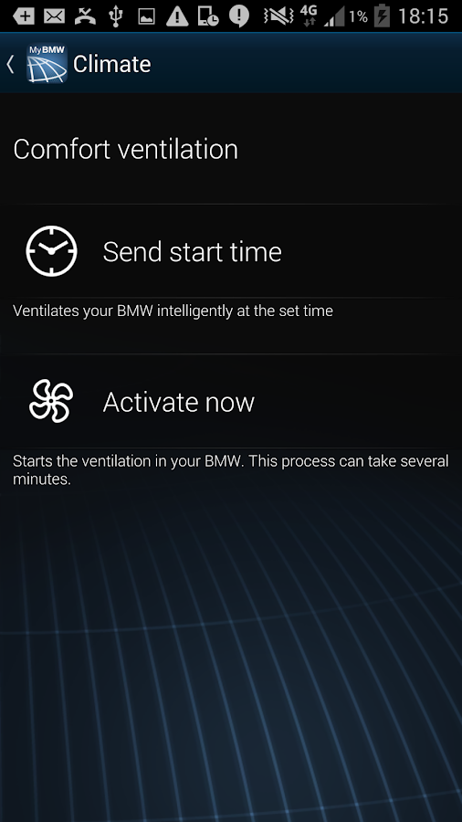 My BMW Remote- screenshot