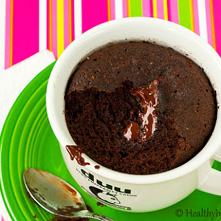 Healthy Instant Chocolate Cake.