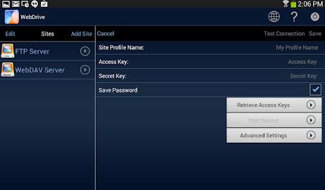 WebDrive, File Transfer Client Screenshot 12