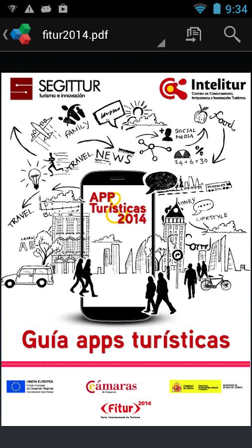 Guía apps turísticas. 2014- screenshot