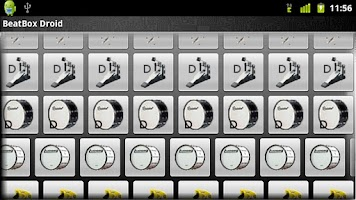 Screenshot of Beat Box Droid