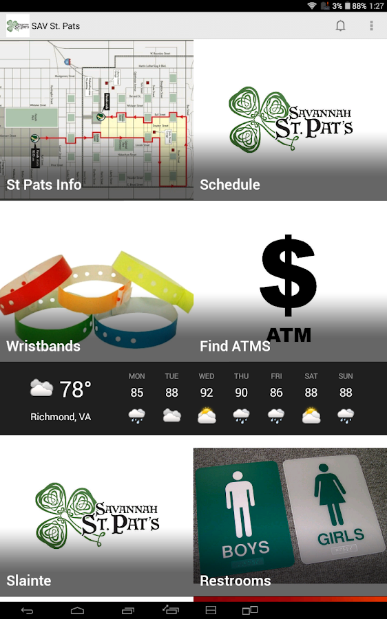 Savannah St. Pats- screenshot