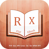 ReaderX : EBook CBZ PDF Reader
