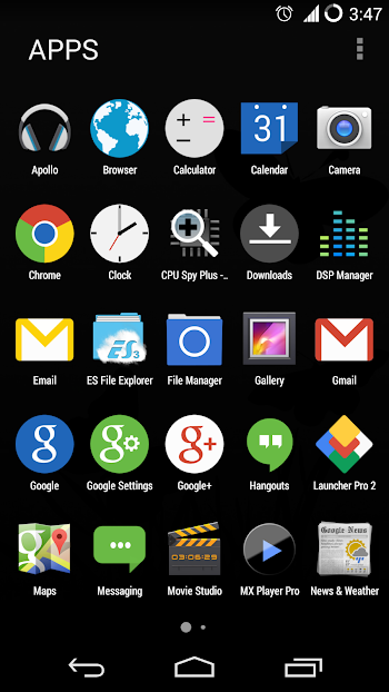 Marshmallow Launcher- screenshot