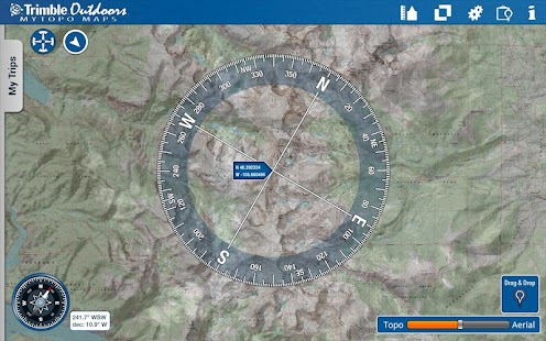 MyTopo Maps - Trimble Outdoors - screenshot thumbnail