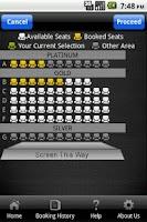 Screenshot of E-Square Cinemas