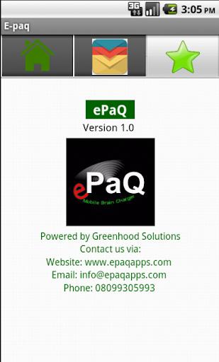 ePaQ Post UTME 2