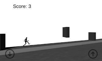 Screenshot of Stickman: Bloody Line Run