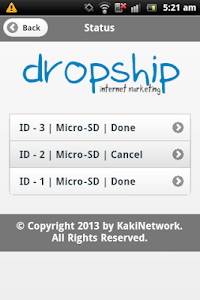 Dropship Internet Marketing screenshot 6