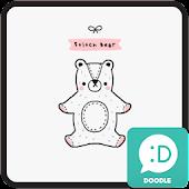 stitch bear 카카오톡 테마