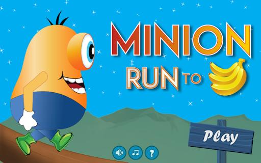 Minion Run To Bananas
