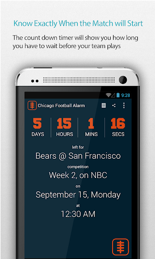 Chicago Football Alarm