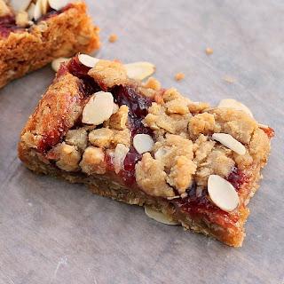 Cherry Oatmeal Almond Bars.