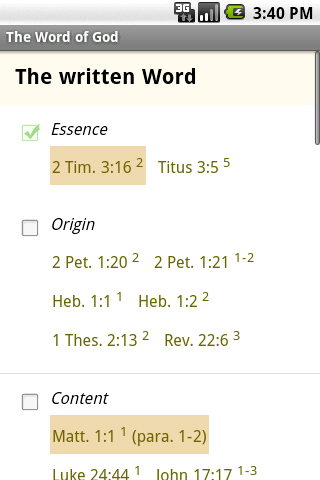BfA Bible Study- screenshot