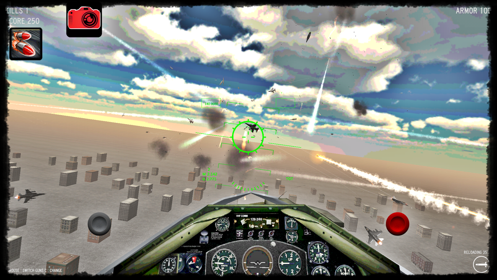 Air Strike Fighter- screenshot