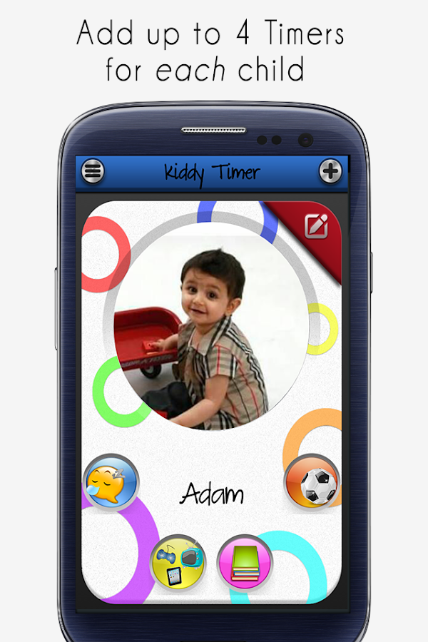 Kids Timer - Kiddy Activities- screenshot
